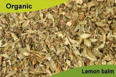 Organic Lemon Balm Leaf 200gm
