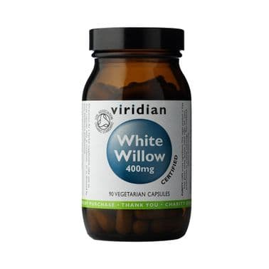 Organic White Willow 400mg 90 Capsules