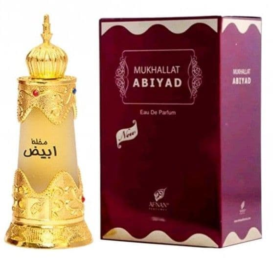 *NEW* Mukhallat Abiyad by Afnan 20ml Exquisite Perfume Oil (Woody Amber Musky)