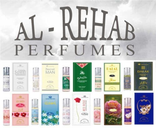 **YOU CHOOSE** Any 6ml Al Rehab Perfume Fragrance Oil Roll On Scent