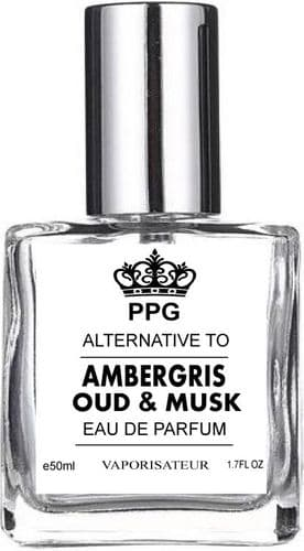 AMBERGRIS OUD & MUSK NICHE EDP PERFUME 50ML SPRAY SCENT UNISEX FRAGRANCE PPG