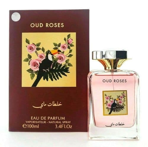 OUD ROSES by My Perfumes (Sweet/Floral/Fruity) 100ml EDP Perfume Spray