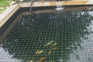 CHILD SAFETY POND NETTING 4M X 3M SAND PIT pond