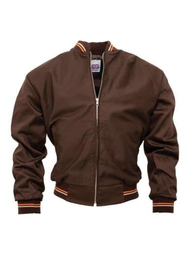 Monkey Jacket Brown  MADE IN ENGLAND
