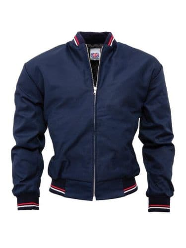 Monkey Jacket Navy MADE IN ENGLAND