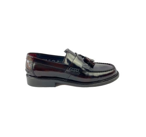 Rude Boy Tassel Loafer Oxblood