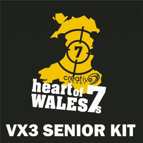 Heart of Wales 7s <br/> Rugby<br/>Senior Kit