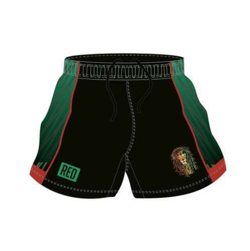 Wailers Match Short Green and Black