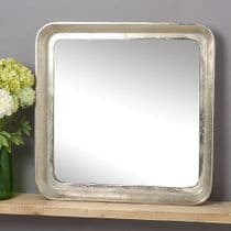 Deep Raw Nickel Mirror *Was £195 Now £155