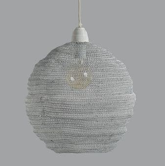Nina Wire Pendant Light - White