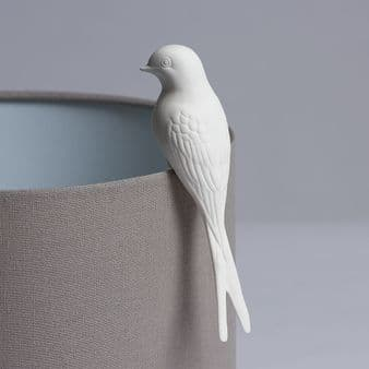 Perching Porcelain Swallow
