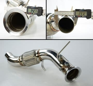 EXHAUST DECAT DE CAT DOWNPIPE BMW E90 E91 325D 330D M57N2 E60 E61 525D 530D M57