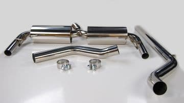 RENAULT CLIO RS 200 MK3 2.0 EXHAUST SYSTEM NON RESONATED 2010-2013