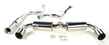STAINLESS STEEL EXHAUST SYSTEM FOR MAZDA 3 MPS 2.3L TURBO 10-14 BL 260PS SPORT